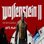 Wolfenstein 2, Wolfenstein 2 The New Colossus, Let's play, youtube, youtube gaming, gigamax, gigamax games