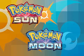Logo for Pokemon Sun & Moon