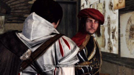 Assassin's Creed 2 Leonard Da Vinci