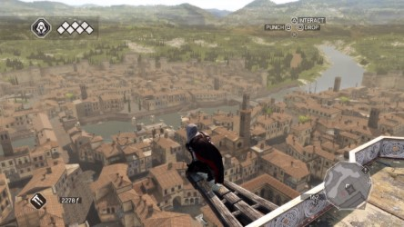 Assassins Creed 2 eagle shot