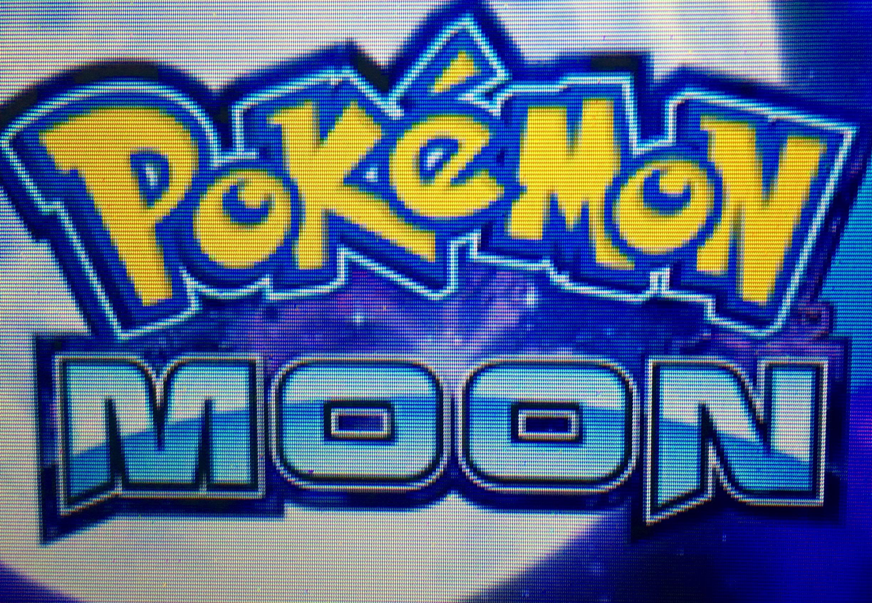 Pokemon Moon title