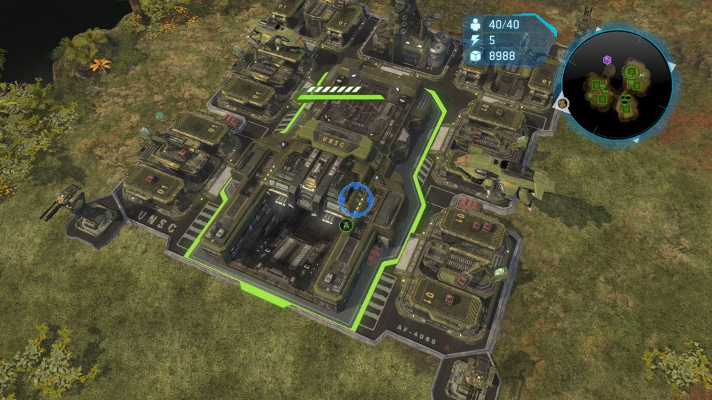 UNSC Base in Halo Wars
