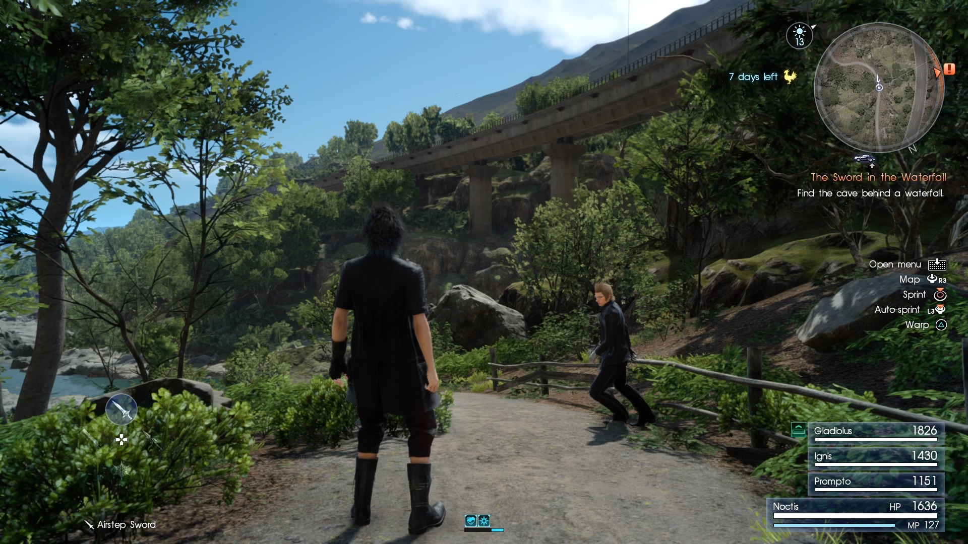 Final Fantasy XV open world