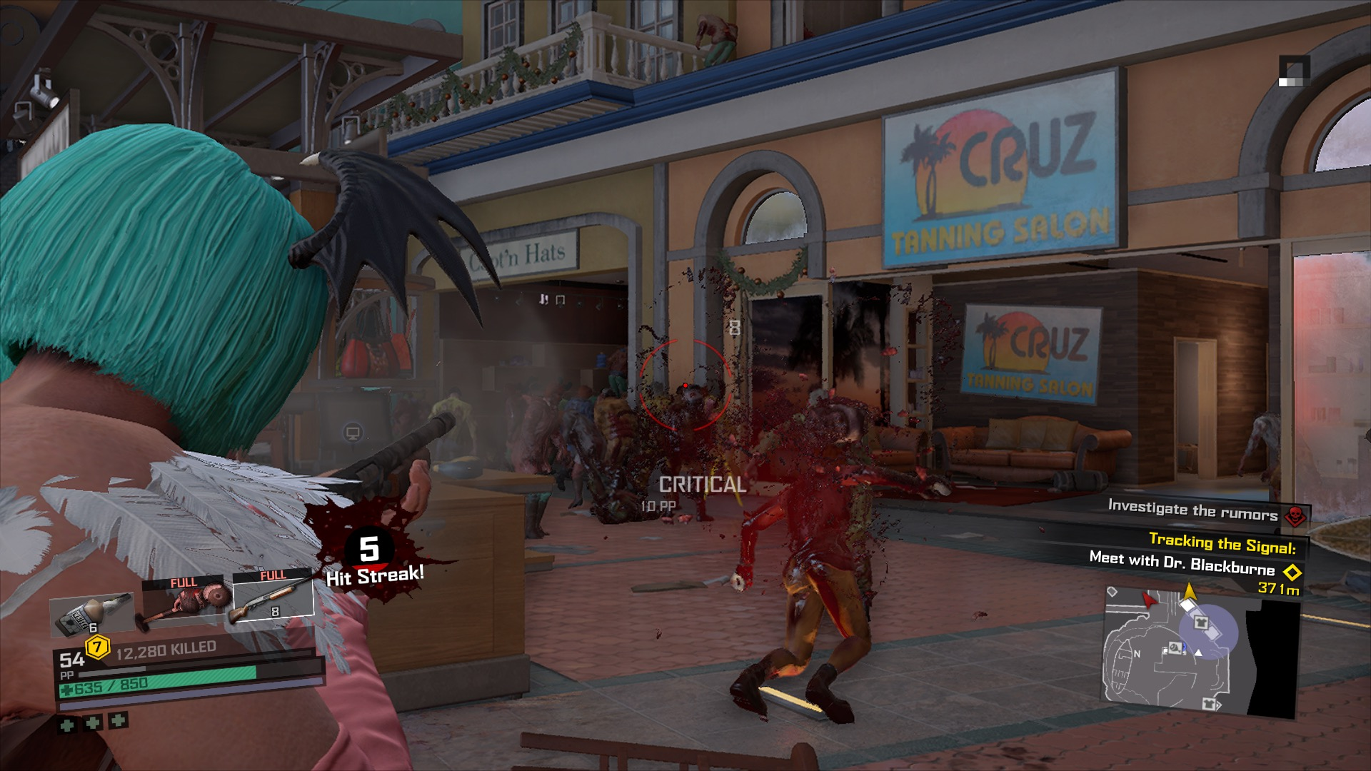 Shooting Zombies in Dead Rising 4