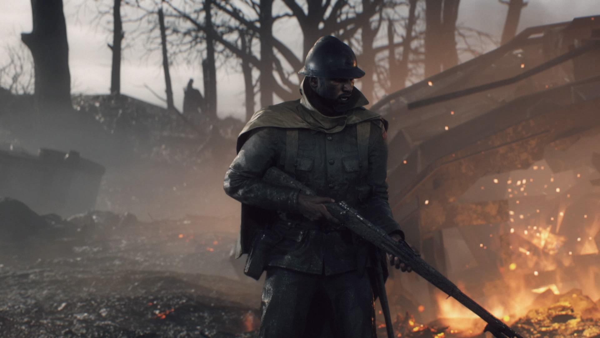 Battlefield 1 soldier