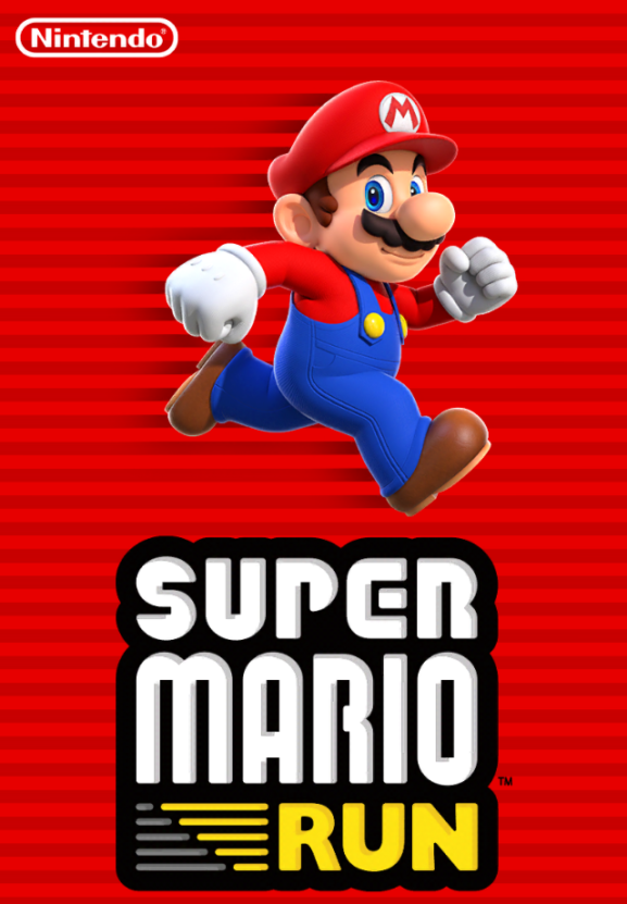 Intro screen for Super Mario Run