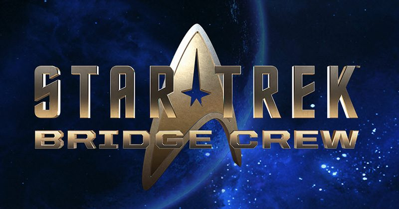 star trek bridge crew logo and new release, playstation virtual reality gets star treck bridge crew