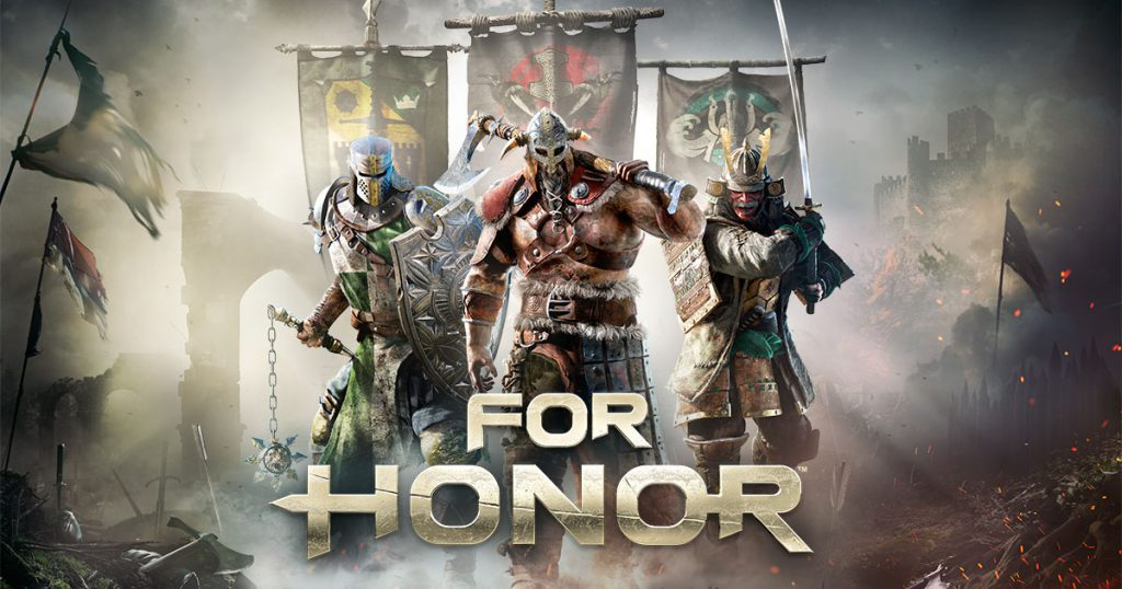 For Honor 2017 video game release with gigamax