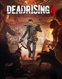 Frank West walking toward zombies under Dead Rising 4
