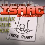 Title screen for afterbirth+
