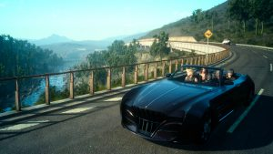 final fantasy xv update, final fantasy 15 update, gigamax games, gigamax, final fantasy car