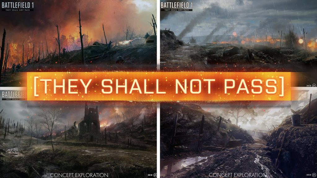they shall not pass, battlefield, battlefield 1, gaming, new games, video game news, gaming news, gigamax, gigamax games