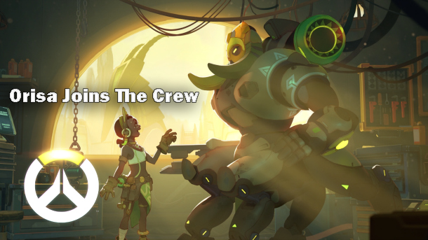 Orisa, overwatch, new character, update, overwatch update, gaming, video games, gigamax, gigamax games, news, industry news, latest news, nj gaming, new jersey gaming