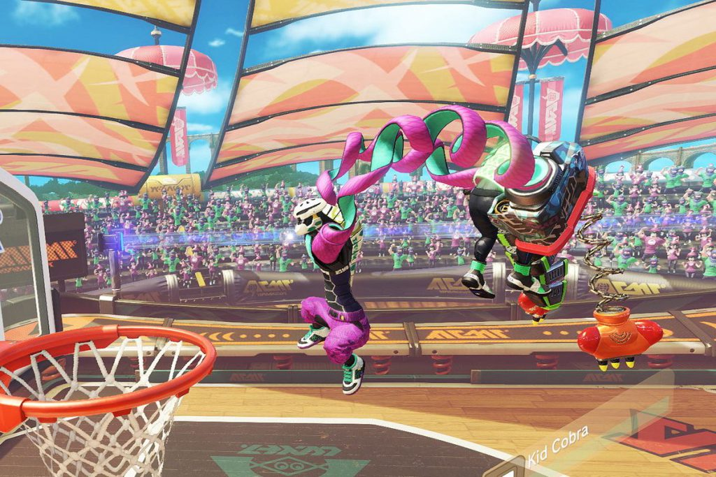 ARMS, nintendo, nintendo switch, switch, gigamax, gigamax games, YouTube, hoops