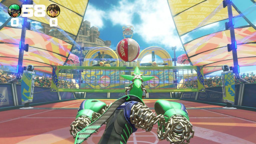 ARMS, nintendo, nintendo switch, switch, gigamax, gigamax games, YouTube, vball