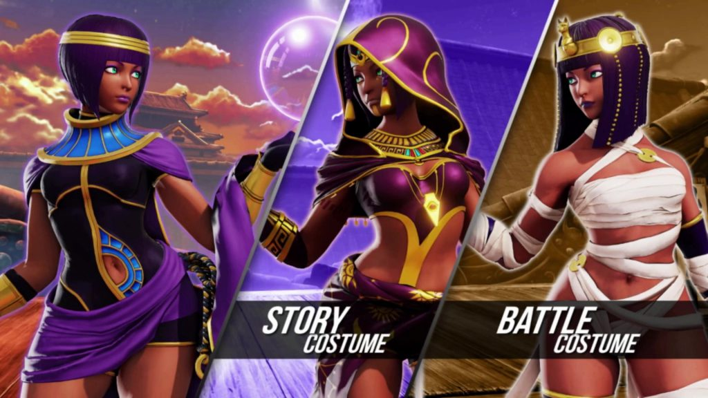 Street Fighter, Menat, update, sf5, gaming news, gigamax games, gigamax,