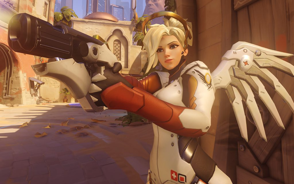Mercy, update, d.va, overwatch, overwatch update, gameplay, gigamax, gigamax news, latest games, pc, ps4, xbox one