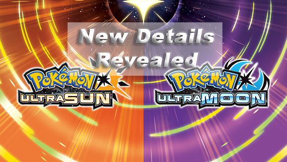 Pokemon Ultra Sun/Moon, new games, nintendo direct, nintendo, ultra sun, ultra moon