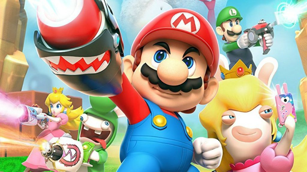 Mario + Rabbids: Kingdom Battle, mario, rabbids, kingdom battle, latest games, nintendo switch, switch, gigamax, gigamax games, nintendo games