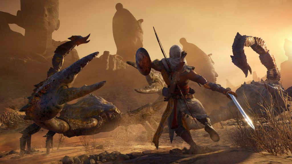 Assassin's Creed Origins, assassin's creed dlc, new game, latest games, ubisoft, gigamax, gigamax games