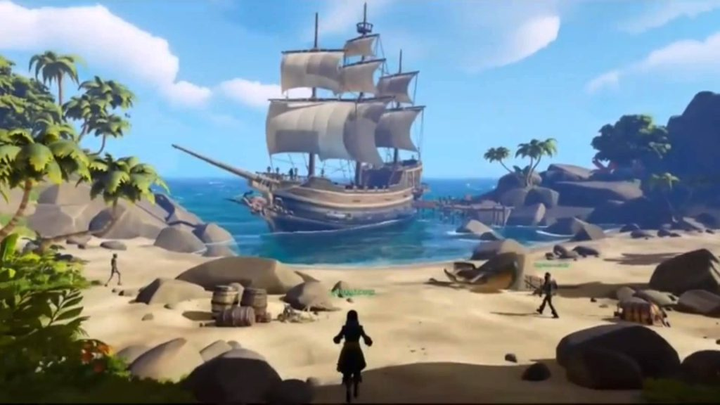 Sea of Thieves, rare, technical alpha, progression, video game news, gigamax, gigamax games