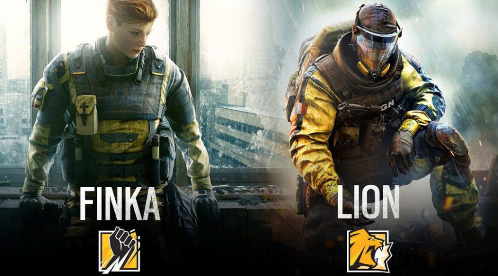 Operation Chimera, new operators, outbreak, finka, lion