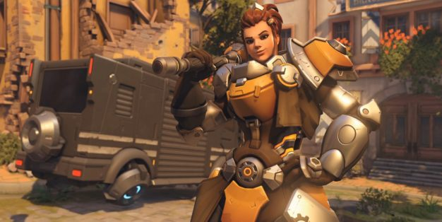 Brigitte, Blizzard, Overwatch, overwatch update, overwatch new character, new overwatch characters, latest overwatch updates, latest gaming news, gaming news, video game news, gigamax overwatch update, overwatch dlc, overwatch hero,