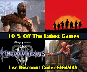 gigamax, cdkeys, cheap games, video game store,