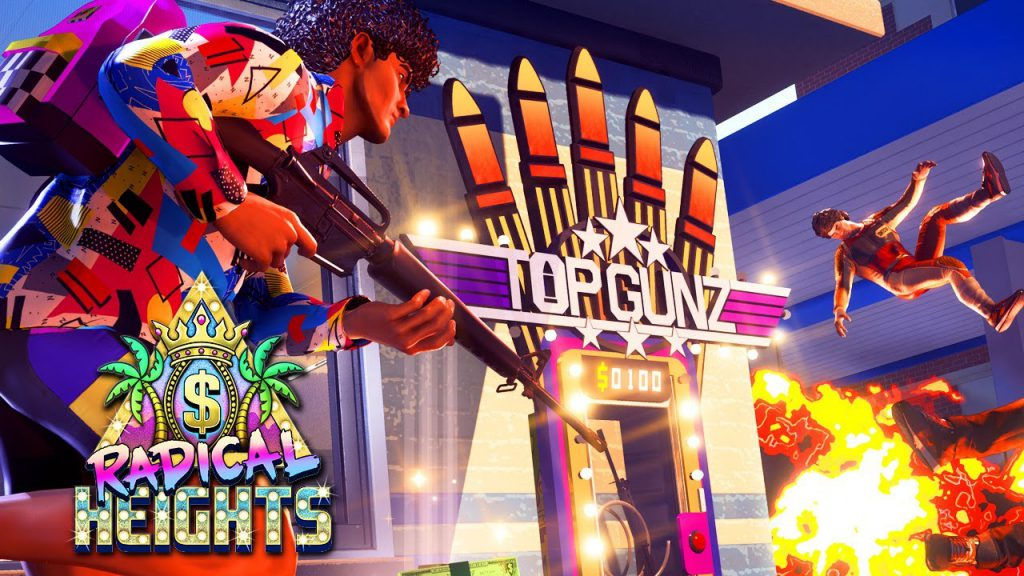 radical heights top gunz, radical heights, new steam games, latest games, early access