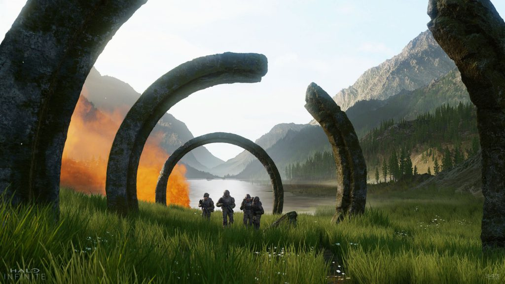 Halo Infinite, new halo, 343, SlipsSpace, SlipsSpace Engine, video game news, gaming news, latest games, new games, gigamax, gigamax games, gigamax gaming news, video game media