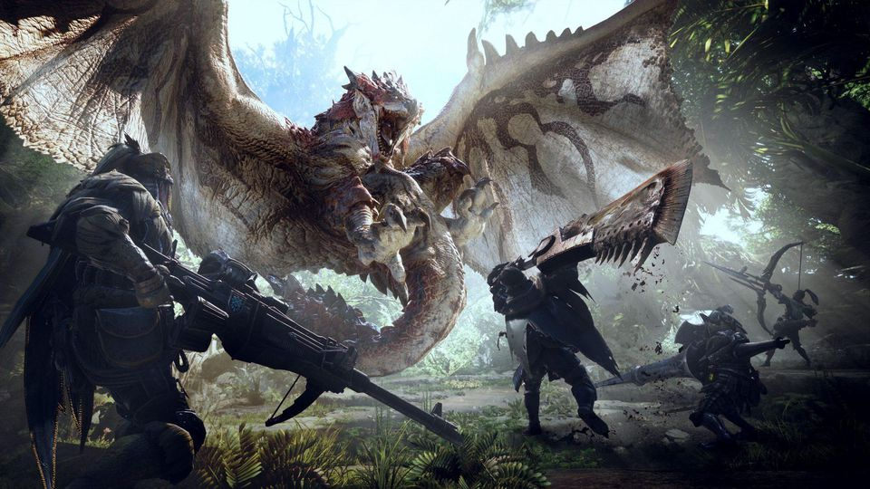 Monster Hunter World. monster hunter, nintendo switch, capcom, monster hunter news, nintendo switch news, nintendo news, capcom news, gigamax, gigamax games, gigamax video game news, gaming news
