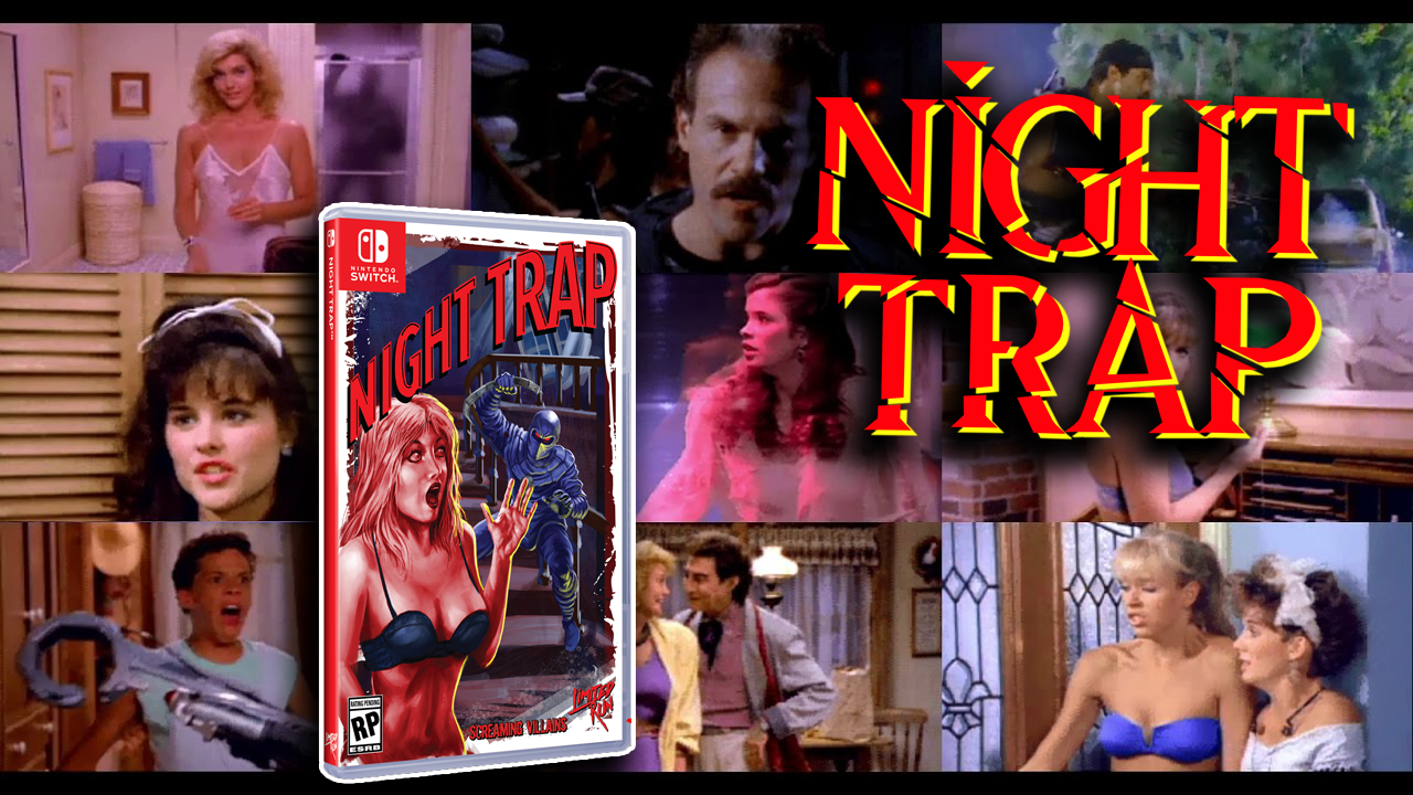 Night Trap – Nintendo Switch Let's Play Page – Gigmax Games