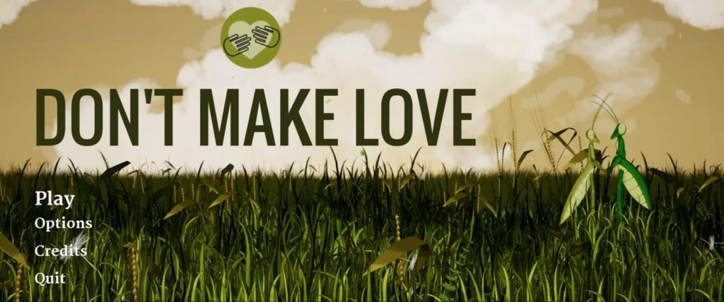 don't make love, bizzare indie games, indie games, indie developers, steam, steam games