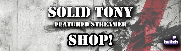 solid tony shop, streamer shop, twitch streamer shop