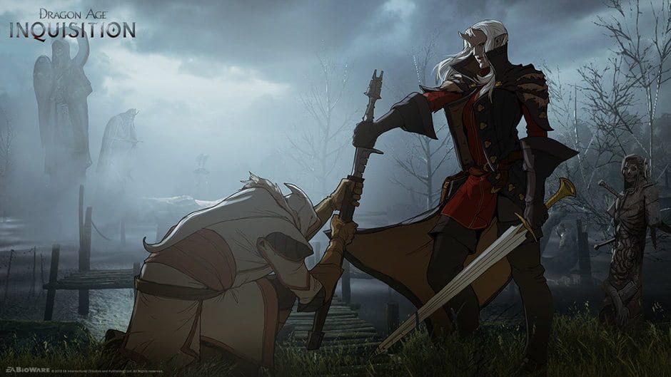 Dragon Age, bioware edmonton, dragon age multiplayer, new dragon  age, dragon age news, gigamax, gigamax games