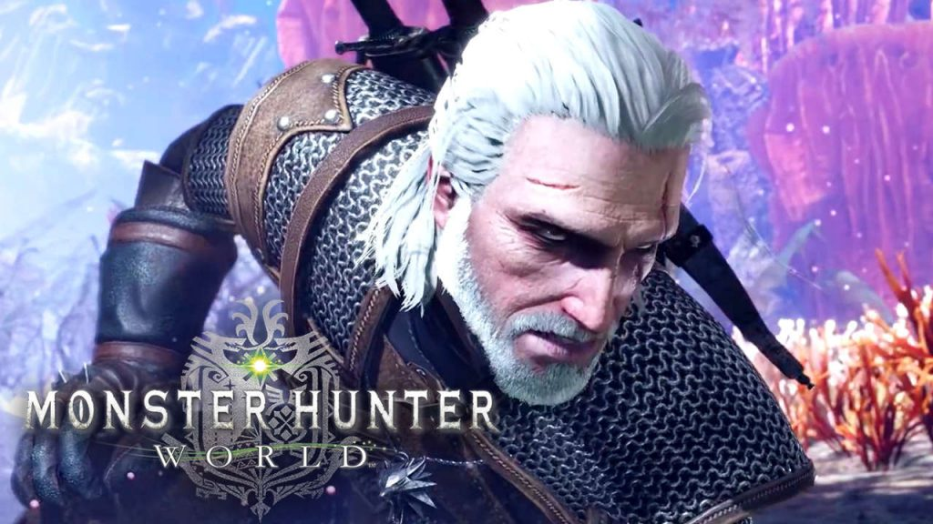 monster hunter, monster hunter world, monster hunter witcher, monster hunter the witcher, monster hunter geralt, new games, newest games, latest games, youtube streaming, monster hunter stream