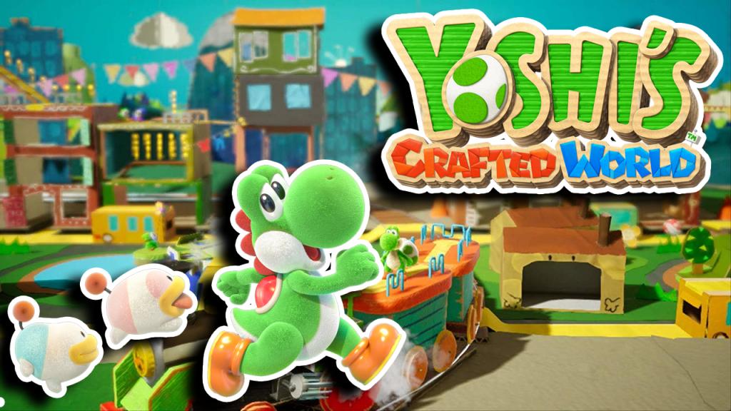 yoshi's crafted world, yoshi games, nintendo switch, yoshi nintendo switch, new yoshi, video game media, youtube gameplay, yoshi youtube