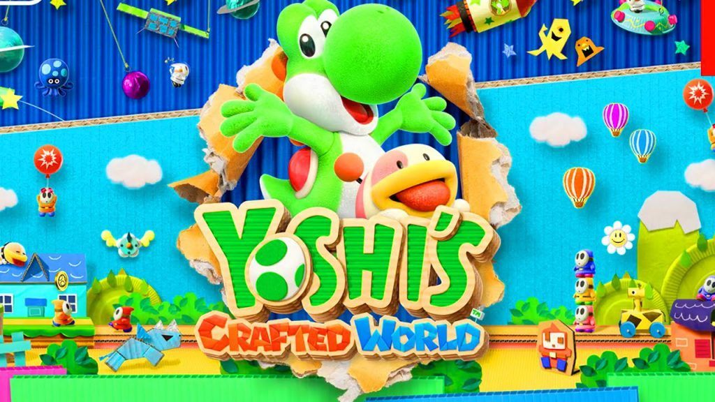 yoshi's crafted world, yoshi games, nintendo switch, yoshi nintendo switch, new yoshi, video game media, youtube gameplay, yoshi youtube