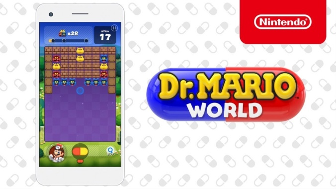 Dr mario world, dr mario mobile, nintendo mobile games, mobile games, mobile gaming, dr mario world early, dr mario world ios, dr mario world android