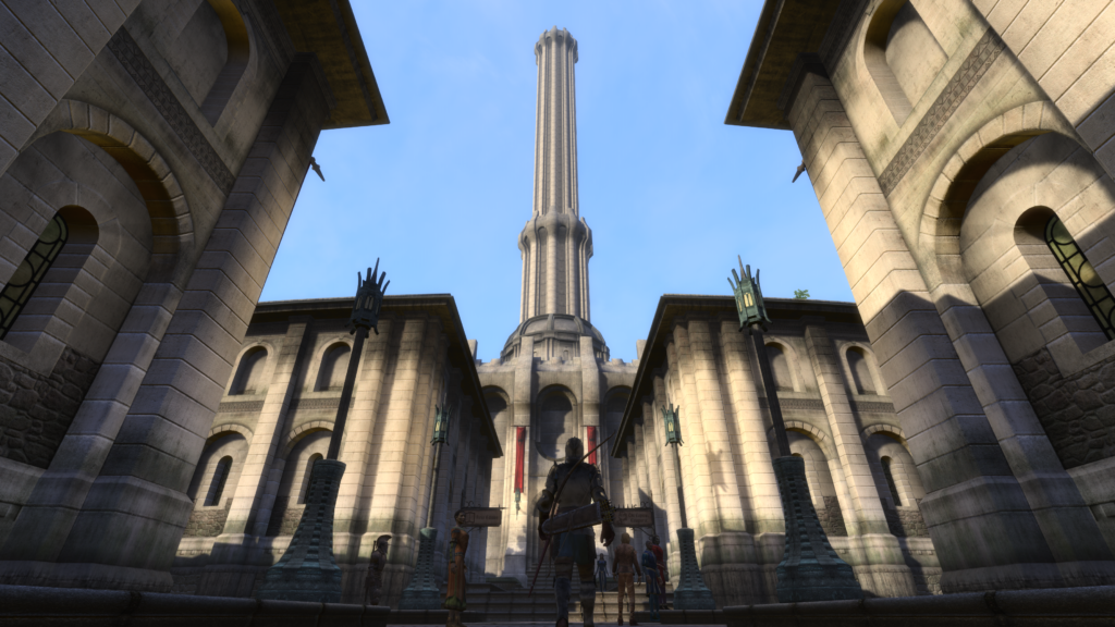 Fans Recreating The Elder Scrolls IV: Oblivion in Skyrim